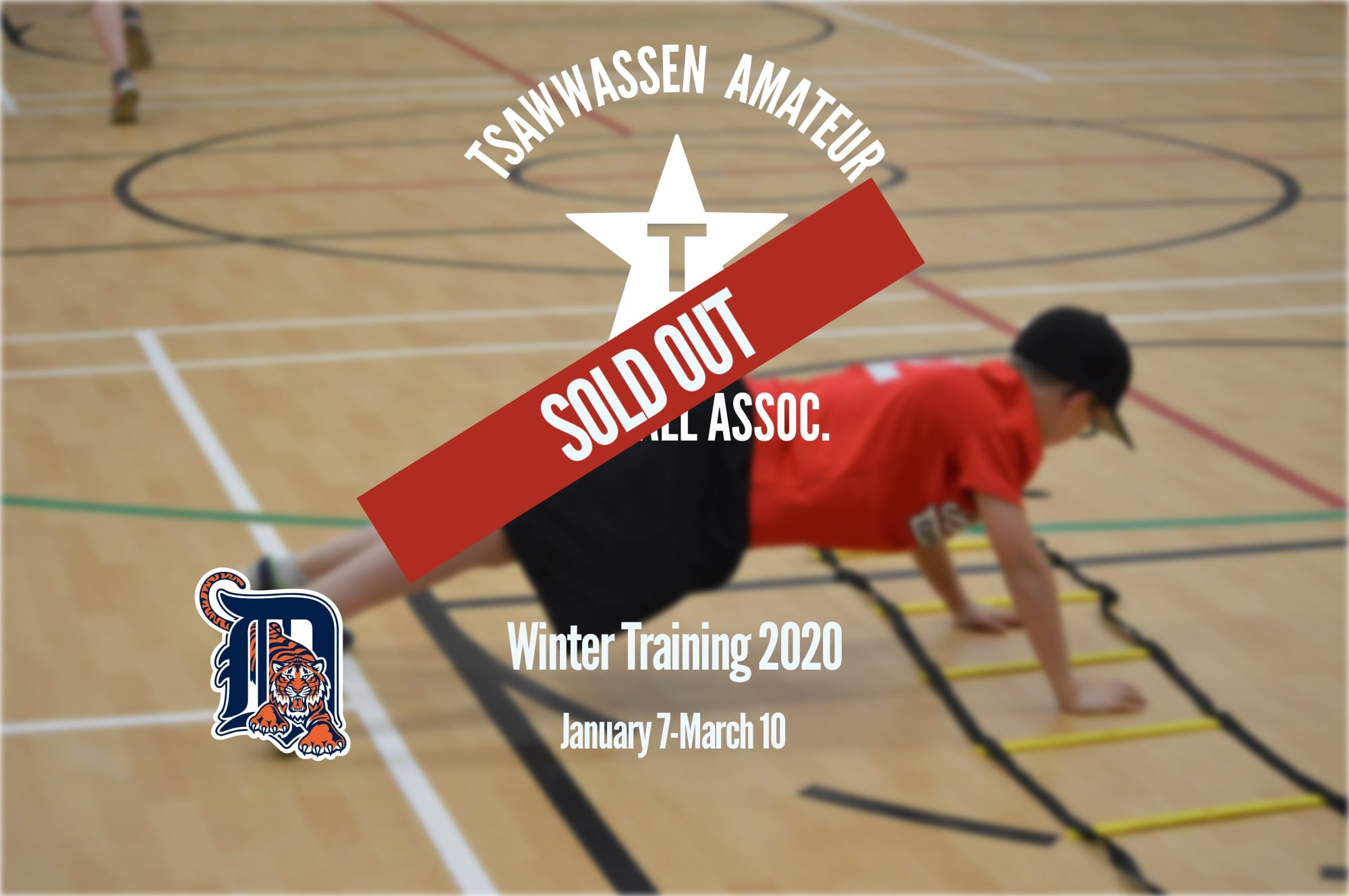 Winter Training Sold Out!